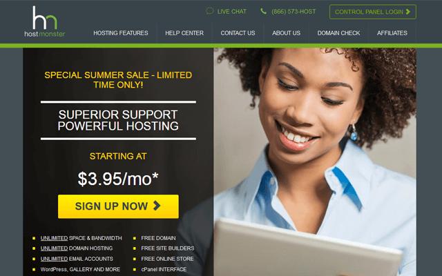 hostmonster company review