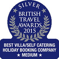 British Travel Awards 2015 - Best Villa/Self Catering Holiday Booking Company