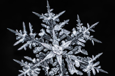 Don Komarechka:镜头下的冰晶几何像