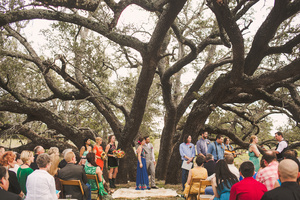 A unique Fall wedding at Three Points Ranch in Austin, TX