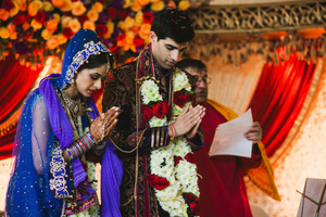 A Hindu Indian wedding ceremony in Houston, TX