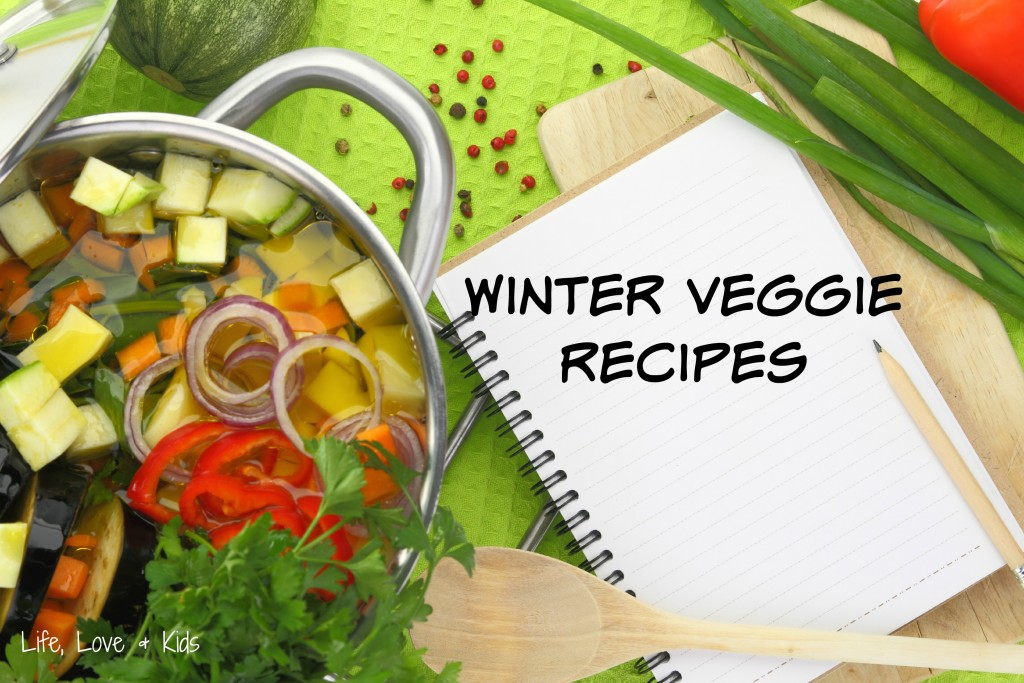 Are you looking for something yummy & easy to make? Here are some great recipes with yummy winter vegetables!