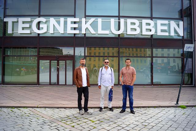 Tegneklubben synes Oslo S ser ut som deres nye klubbhus.