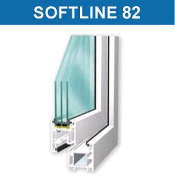 ПВХ профиль Veka Softline 82 (Века Софтлайн 82)