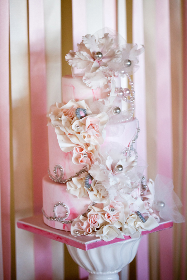 Latest Obsession: 3D Wedding Invites - pink white ballet bride inspiration 5