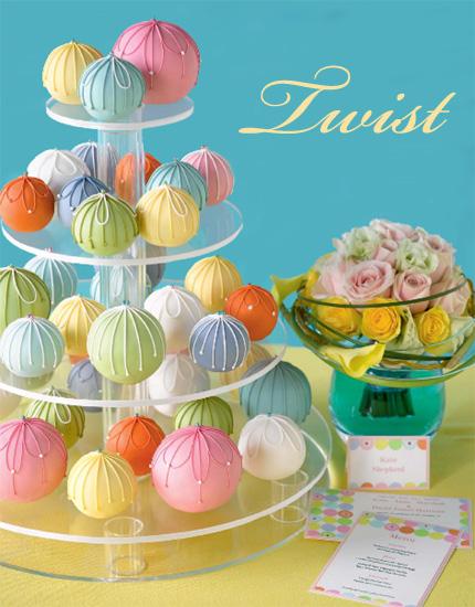 Cakes: Classic & Twist - twist cake