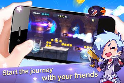 WeChat Gunz Dash Game
