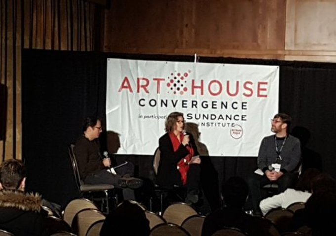Deutchman, Thompson and Adams at Art House Convergence.
