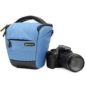 Evecase Blue Digital SLR Camera Carrying Case for Nikon