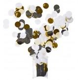 White & Metallic Jumbo Confetti