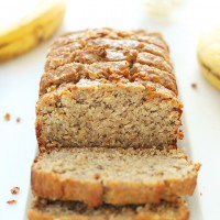 Easy Gluten Free Whole Grain Banana Bread!