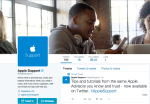 Apple creates a general support channel on Twitter