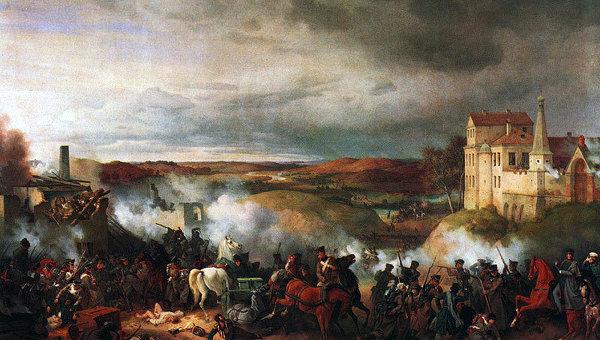 Сражение под Мало-Ярославцем 12 октября 1812 года. 1851