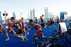 The 2016 Abu Dhabi Triathlon will take place on March 5 running along Abu Dhabi Corniche, the causeway to Marina Mall and Theatre Road. Christopher Pike / The National