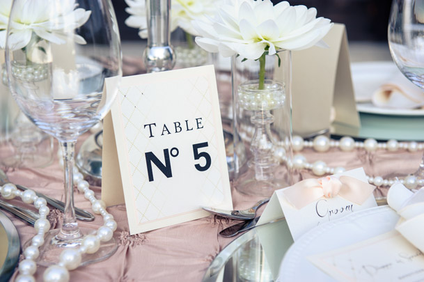 chanel table numbers no