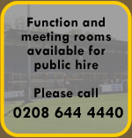 Function and Meeting Rooms available for hire
