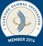 2014 Clinton Global Initiative Member Seal