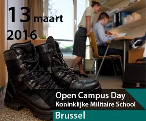Open Campus Day in de Koninklijke Militaire School (KMS)