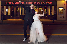 Hayley Williams and Chad Gilbert Tie the Knot! See Official Wedding Photos