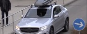 Mercedes GLC Coupe With Roof Box Caught On Cam