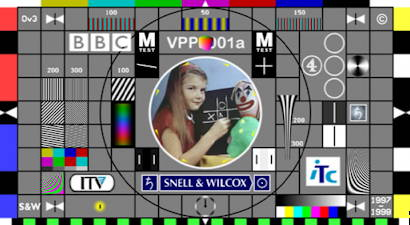 Snell and Wilcox 16:9 MPEG Test Card M