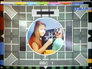Test Card F, BBC1