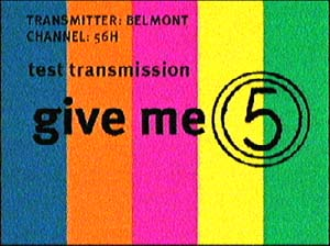 Test transmission, Channel 5