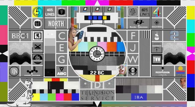 A fantasy all-purpose test card