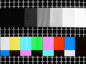 Satellite test card
