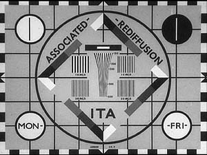 Associated Rediffusion Test Card