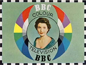 BBC experimental 405 colour tuning signal