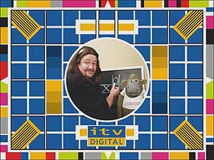 Joke test card from ITV Digital, March 2002