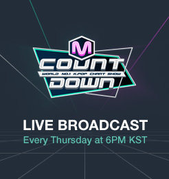 [M COUNTDOWN] World No.1 K-POP Chart Show! Every Thursday at 6PM KST