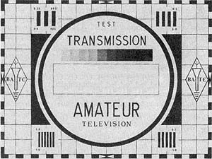 BATC amateur radio test card