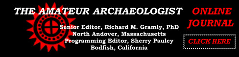Amateur Archaeologist Online Journal