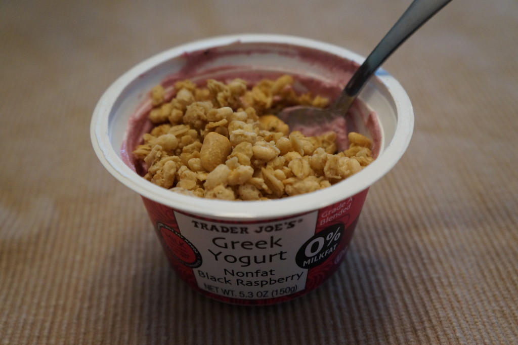 black raspberry yogurt