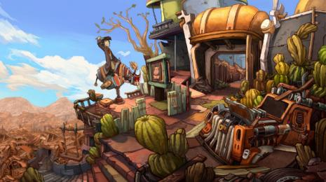 Deponia giveaway! Win one of 50 Steam keys for Deponia: The Complete Journey, worth $39.99!