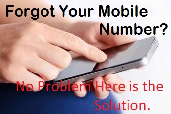 How to check my own mobile number
