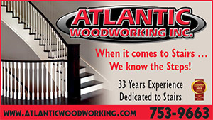 Atlantic Woodworking – Stairs