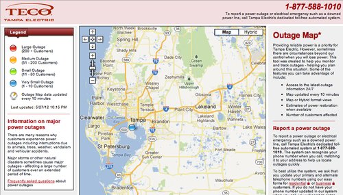 TECO-Tampa-Electric-Outage-Map