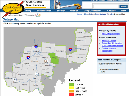South-central-ohio-outage-map