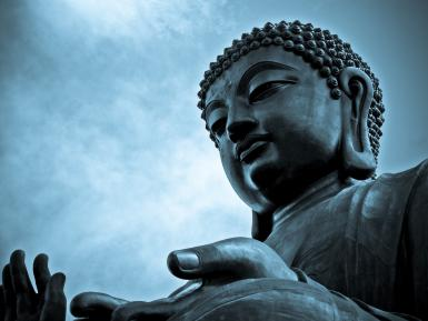 blue-buddha.jpg - © Jon Binalay Creations / Getty Images