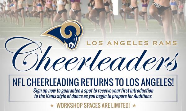 Rams Begin 2016 Cheerleader Audition Process