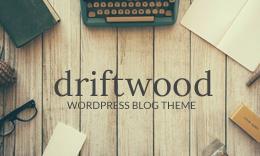 Driftwood - A Responsive WordPress Blog Theme