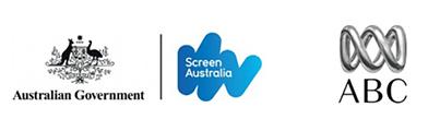 Screen Australia and ABC logos