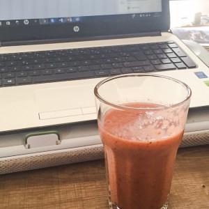 smoothie grenade kiwi banane fraise