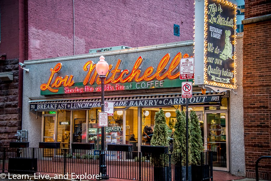 Lou Mitchell's Diner, Chicago