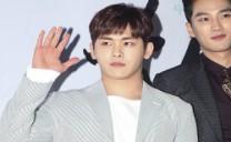 [bnt photo] INFINITE Hoya Waves at ′Heeya′ Press Screening