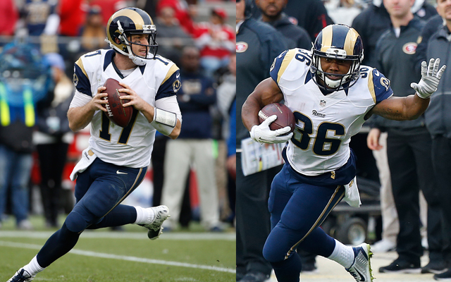 Rams Extend Qualifying Offers to Keenum, Cunningham