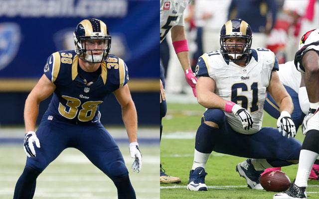 Rams Re-Sign Barnes, Davis